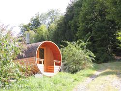 Un Sauna au feu de bois