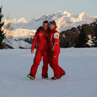 anais claude ESF Morzine cours de ski
