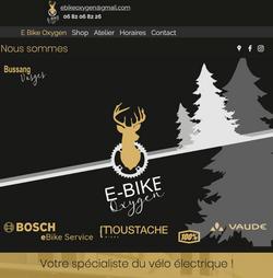 E Bike Oxygen Bussang, Vente et location de vélos à assistance électrique à Bussang, Hautes Vosges.