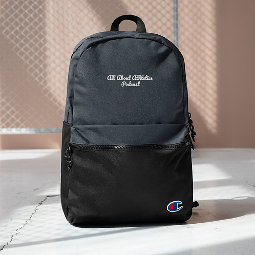 All About Athletics Podcast Backpack