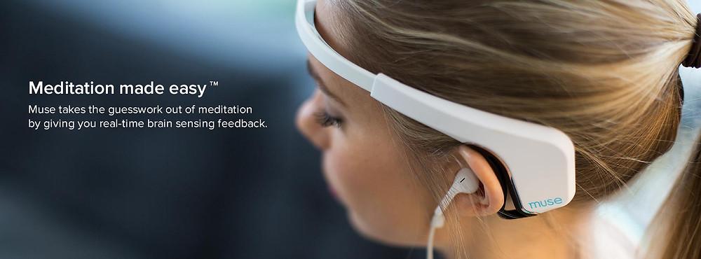 Get 15% Muse Brain Sensing EEG Meditation Headband!