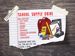 D.R.E.A.M: Dynamically Rebuilding & Educating All Minds (School Supply Drive)