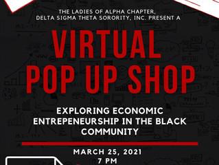 The Virtual Pop-Up Shop