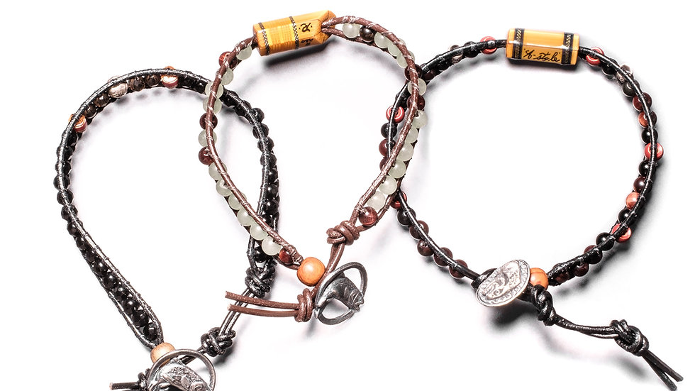 Power Stone Bamboo Bracelet Series 7-9