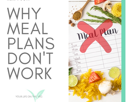Why Meal Plans Don't Work