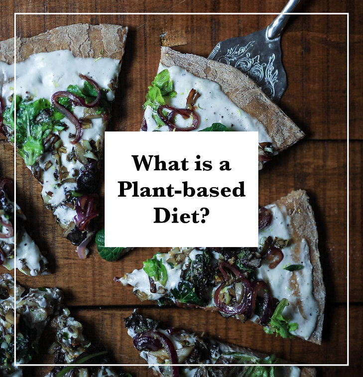 what is a plant-based diet? pizza, vegan