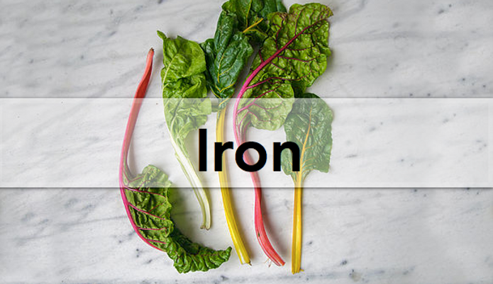 iron, vegan, plant-based, leafy green, vegetable