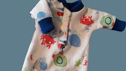 tiny baby clothing boys UNDER DA SEA all sizes