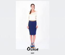 Skirt Olivia (dark blue)