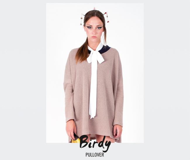 Pullover Birdy (camel)