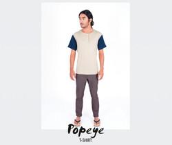 T-Shirt Popeye (camel)