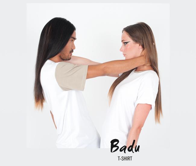 T-Shirt Badu (white)