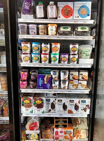 non-dairy frozen foods