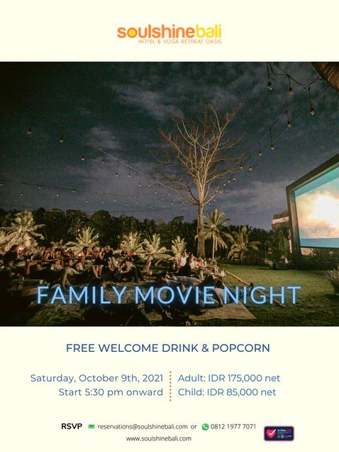 Family Movie Night at Soulshine