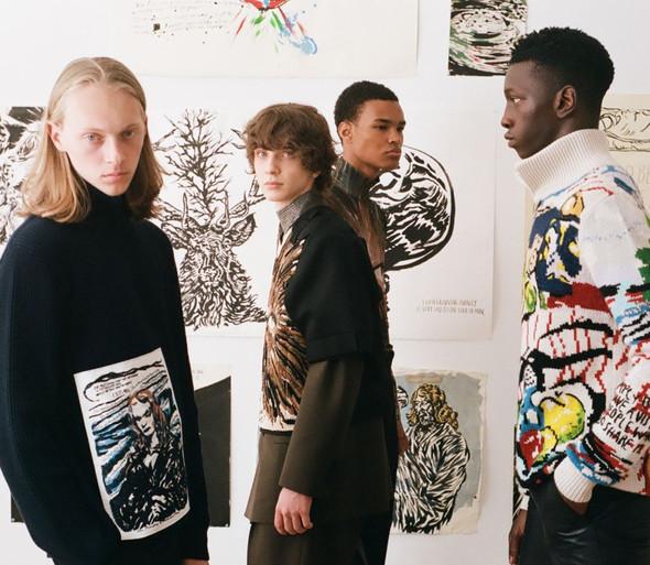 Raymond Pettibon collaborates with Dior