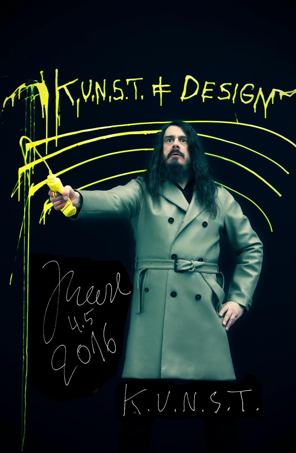 Kunst ≠ Design 2016, 841 x 1189 mm DIN A0