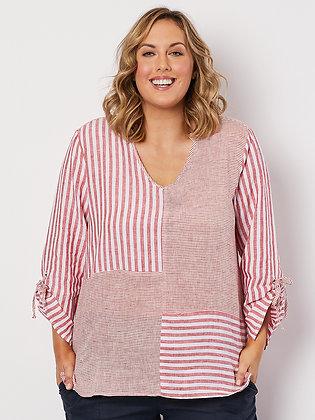 Spliced Stripe Tunic