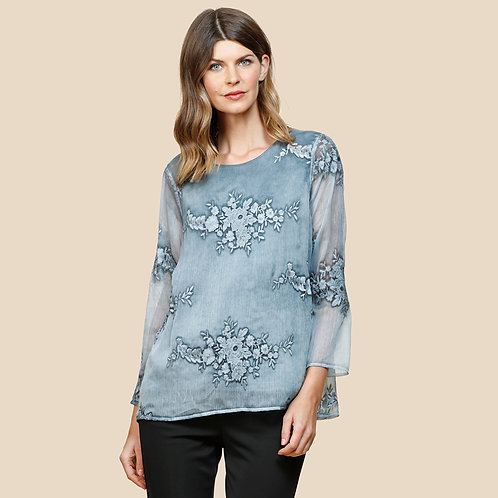 Baroque Embroidery Top
