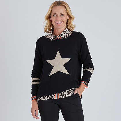 Diamante Star Knit