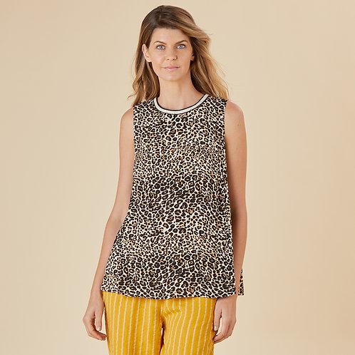 Leopard Love Print Top