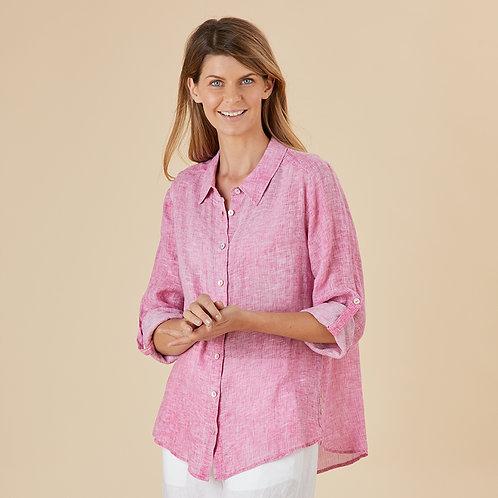 Ripple Linen Shirt