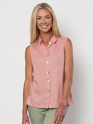 S/Less Button Shirt