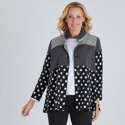 Spliced Pattern Jacket