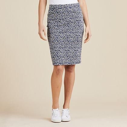 Speckle Print Skirt
