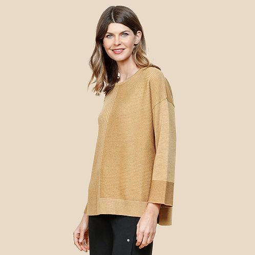 Curated Cashmere Multi Rib Sweater