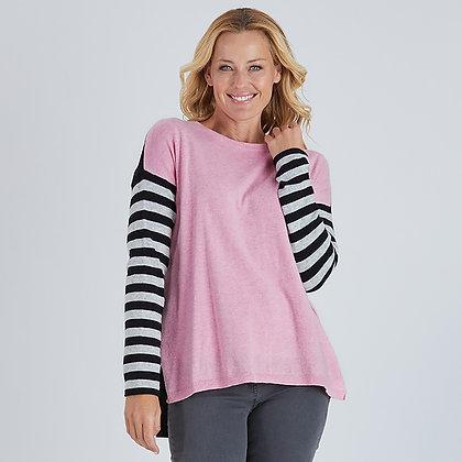 Colour Block & Stripe Knit