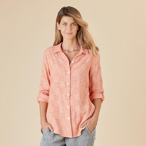 Capri Textured Linen Shirt