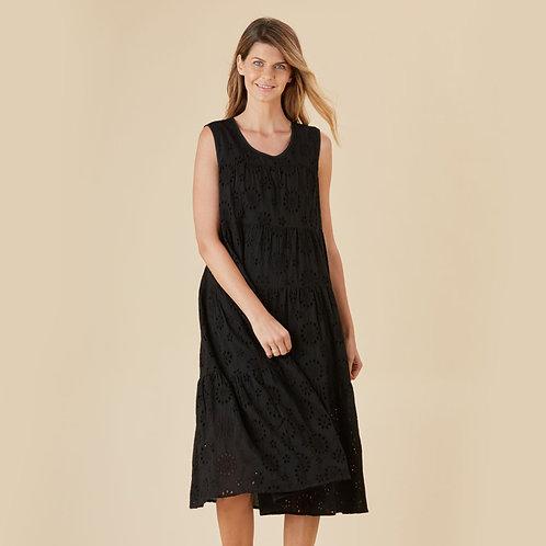 Bella Broderie Cotton Dress