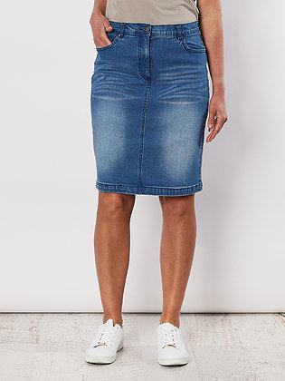 Miracle Denim Jean Skirt