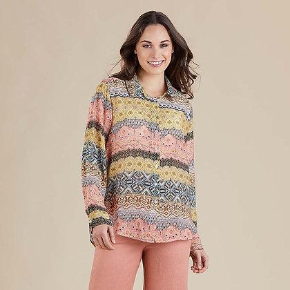 Sunshine Multi Print Shirt