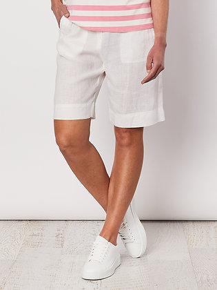 Tie Front Linen Short
