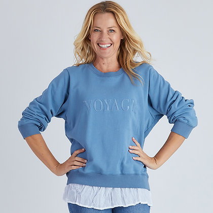 Voyage Embroidered Sweat