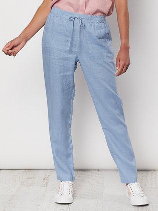 Linen Slim Leg Pant