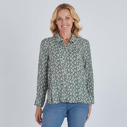 Dainty Floral Print Shirt