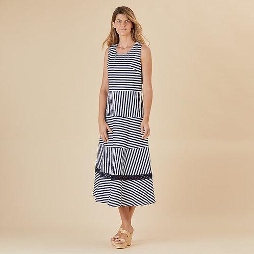 Siena Stripe Cotton Dress