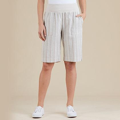 Rib Waist Stripe Short