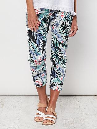 Tropical Print Pant