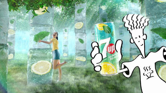 7UP 'Lemon Mint Girl Version'