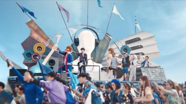Pepsi Music Festival 'Mash up'