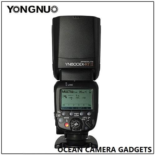 YONGNUO YN600 EX-RT II YN-600 Flash Speedlite TTL for Canon DSLR camera