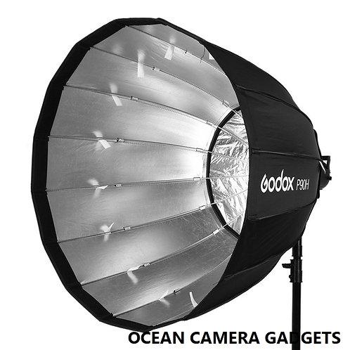 Godox P90H 90cm Umbrella Octagon Deep Parabolic Softbox for Studio light strobe