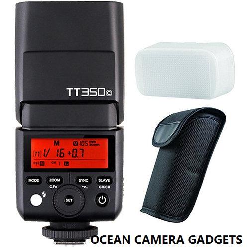 Godox TT350C TT350 C TTL HSS 2.4G Wireless Mini Flash PocketSpeedlite for Canon