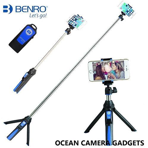 Benro Mefoto MK-10 Bluetooth Selfie Stick Mini Tripod MK10