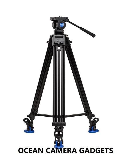 Benro KH26NL Aluminum Tandem Legs Video Tripod & Fluid Head Kit