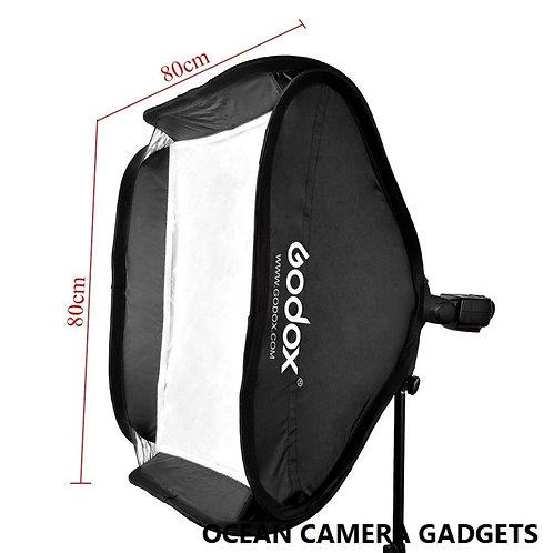 Godox 60cm 80cm Folding flash Softbox for flash and Bowens Mount strobe