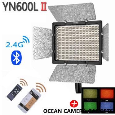 YONGNUO YN600L II Photobooth LED Color Temperature Adjustable Studio Video Light